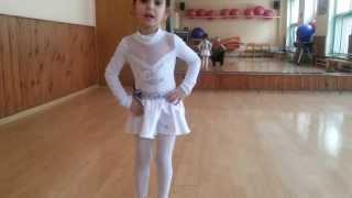 Ча ча раз два три..Первые танцевальные шаги www.alexandradance.ru