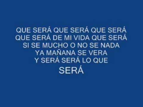 Jose Feliciano - Que Sera (Con Letra)