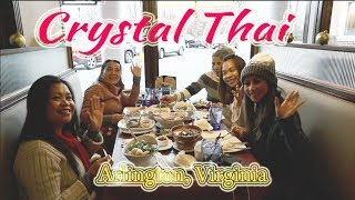 Thai food  lunch at Crystal Thai Arlington Virginia | lifestyle