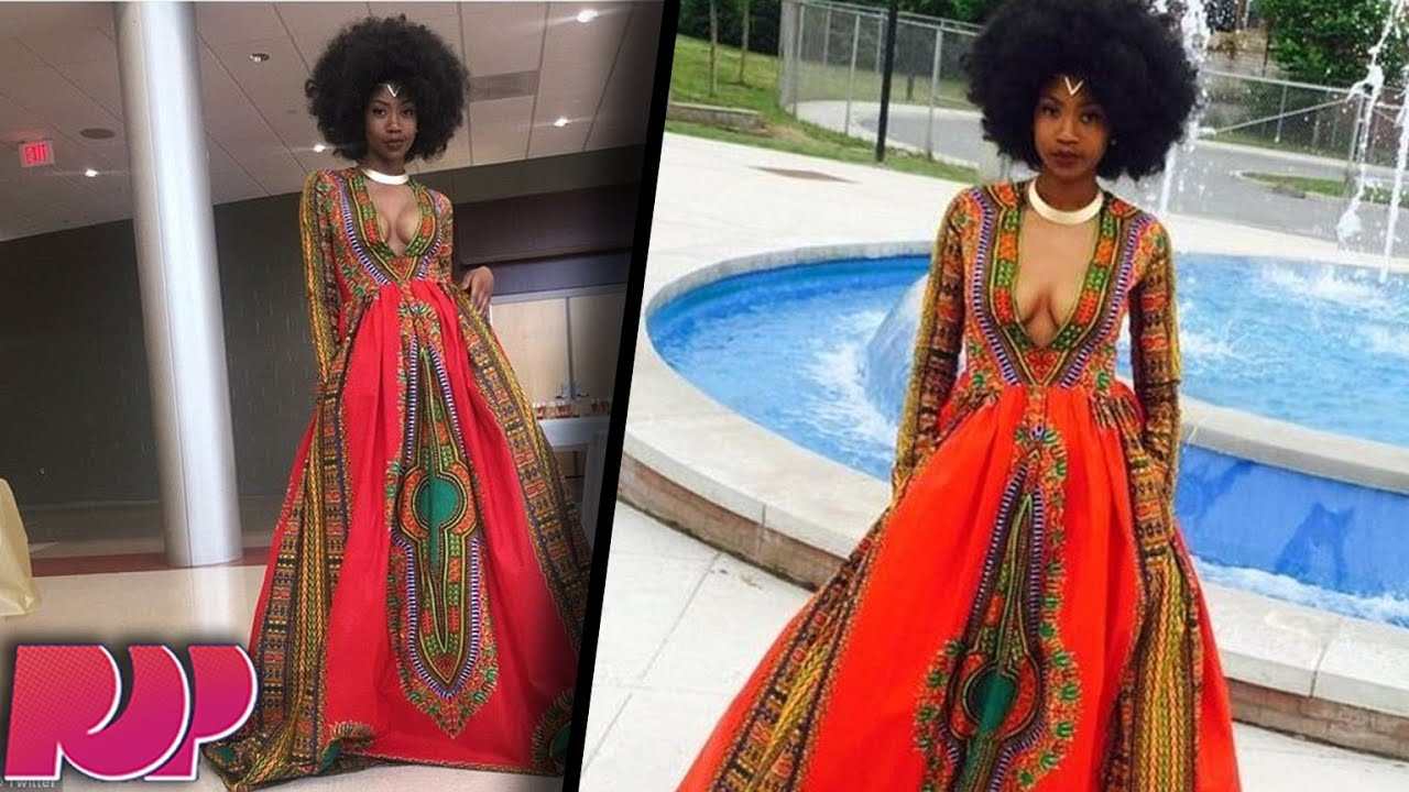 Bullied Teen Makes Amazing Prom Dress, Becomes Prom Queen - YouTube