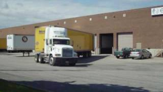 90 seconds backing up tractor trailer into an enclosed dock