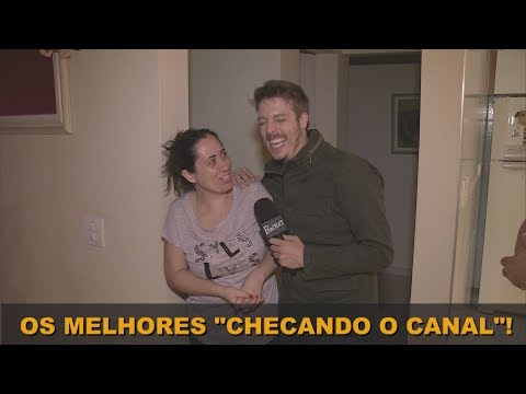 """AS VISITAS MAIS ENGRAÇADAS DO """"CHECANDO O CANAL""""!!!"""