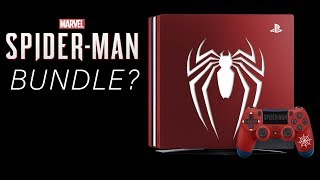 Spider-Man PS4 Pro Bundle COMING SOON?