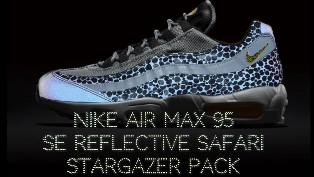 Nike Air Max 95 SE Reflective Safari Stargazer Pack Off Noir