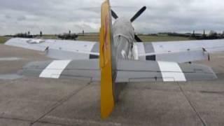 P51 Flightline Duxford. July 2009.
