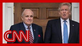 Trump responds to Giuliani raid