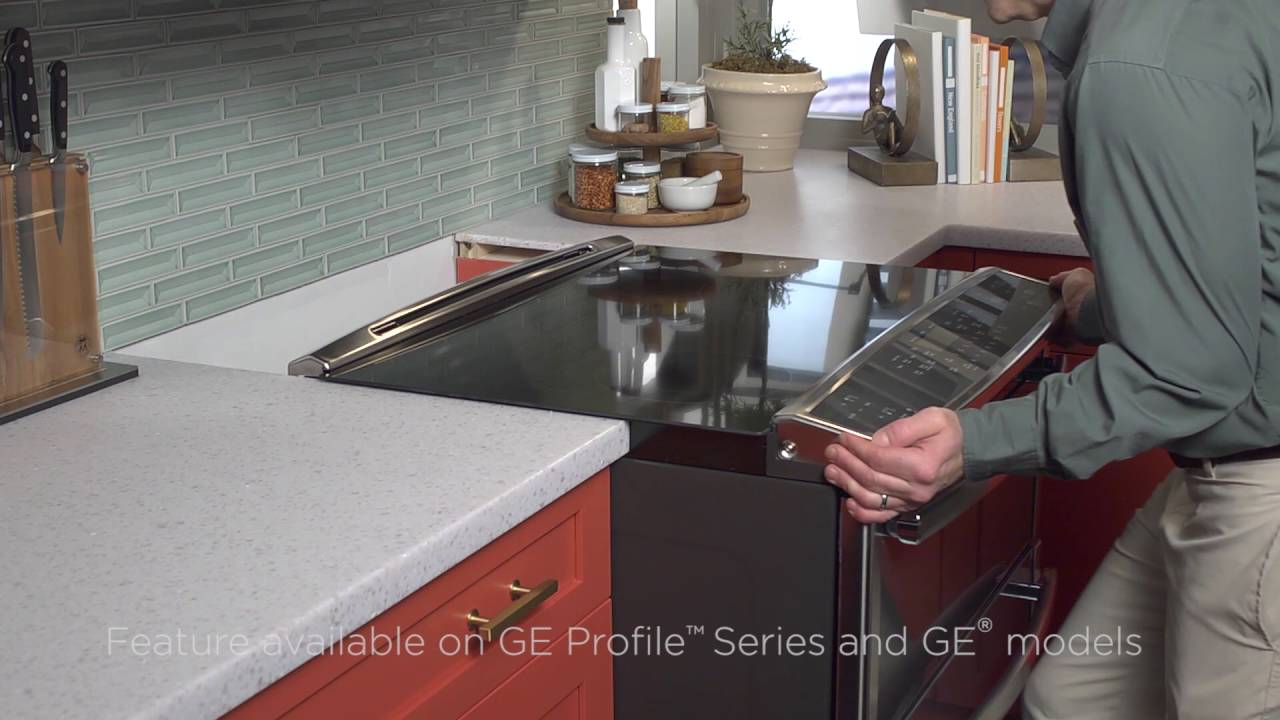 Relatively GE Appliances Fit Guarantee -- Slide-in Range Install - YouTube DS09
