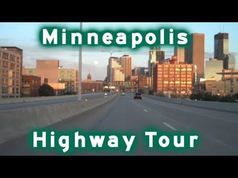 Highway Tour of Minneapolis