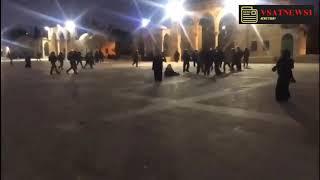 Израильская полиция штурмовала  Аль-Акса