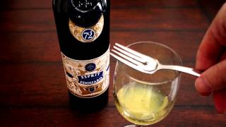 Absinthe Preparation with Common Household Items