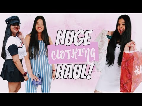 Huge Try-On Clothing Haul | Supre, H&M, Jay Jays + More!