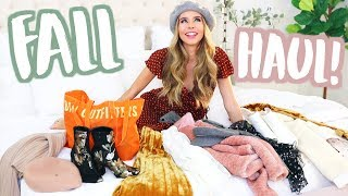 FALL HAUL 2017! | Sierra Furtado