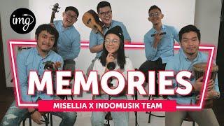 Download lagu MEMORIES (COVER LIVE PERFORM) - Ft. MISELLIA IKWAN