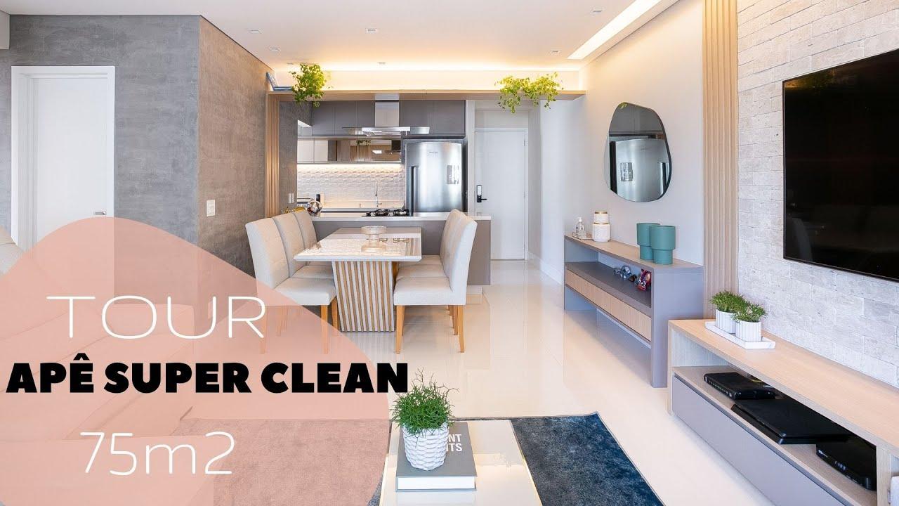 TOUR | AQUELE SUPER CLEAN 75M²