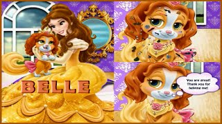 Watch Caring Palace Pets with Princess Belle Video-Pets Caring Games Online-Princess Belle Games