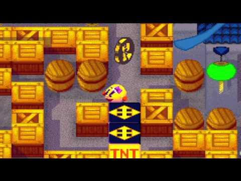 [GBA EMU]Ms. Pac-Man Maze Madness - Pac Ping Harbor 4:18