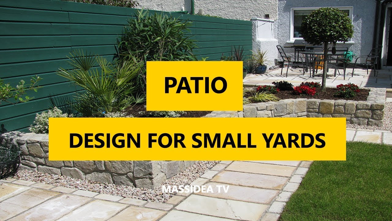 50+ Best Patio Design Ideas for Small Yards 2018 - YouTube