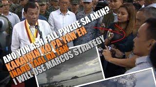 TAAL Volcano eruption Media interview kay Pangulong Duterte