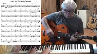 Just One Of Those Things - Jazz guitar & piano cover ( Cole Porter )