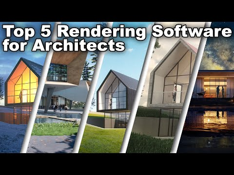 Top 5 Rendering Software for Architects