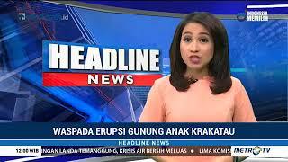 WASPADA !!! GUNUNG Krakatau MELETUS | ANAK GUNUNG KRAKATAU