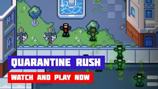 Quarantine Rush · Game · Gameplay