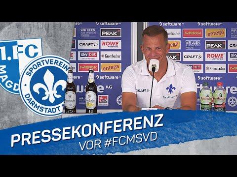 Darmstadt 98   Pressekonferenz FCM-SVD