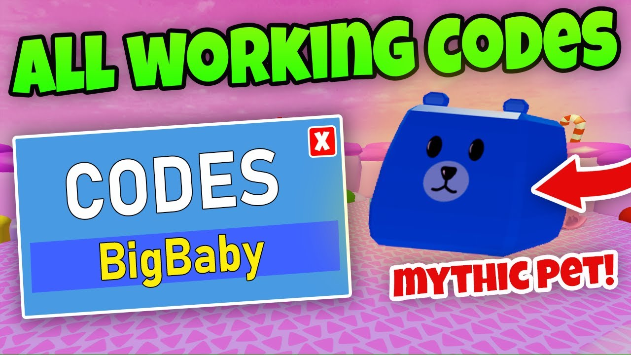 All 16 Working Codes Mythic Pet Baby Simulator Roblox Youtube