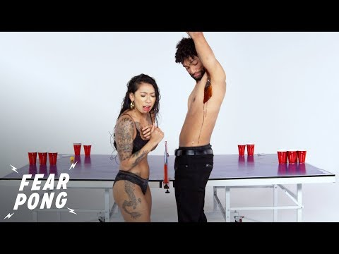 Blind Date (Sav vs. Justin) | Fear Pong | Cut
