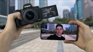 Huawei P30 Pro vs Canon M50 Best For Vlogging? Ditch The Camera?