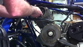 demontage moteur  350 raptor pour segmentation