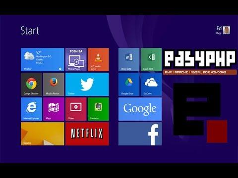 Installation De EasyPhp Sous Windows 8.1