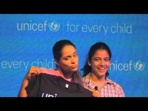 Unicef apuesta por la youtuber Superwoman para llegar a millones de jóvenes