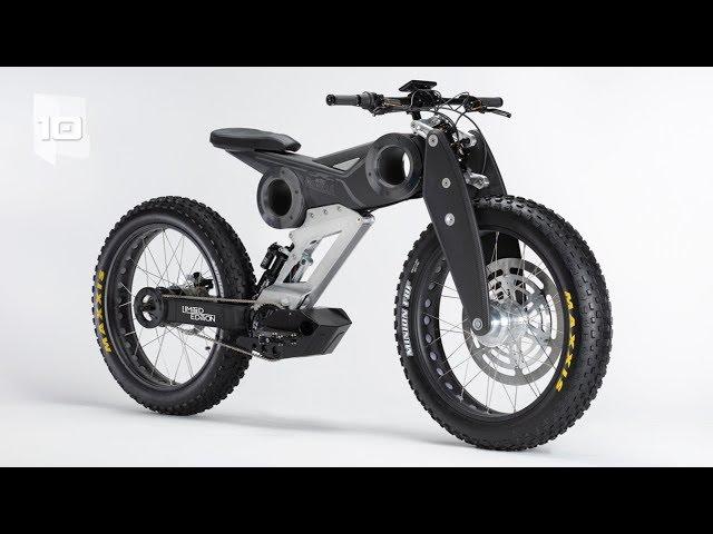 10 Biciclette elettriche più incredibili al mondo