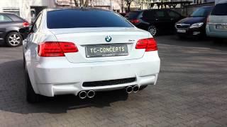 BMW M3 E90 E92 E93 Deep Race Sound Exhaust Sportauspuff Endschalldämpfer