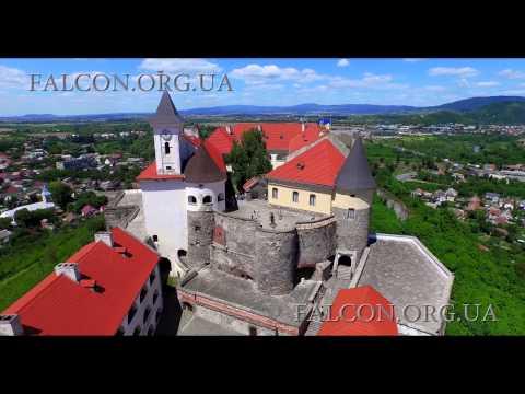 Замок Паланок / Palanok Castle, Mukachevo. 4K Resolution. Аеровідеозйомка/Aerial