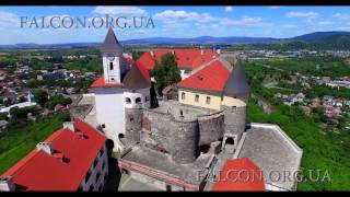 Замок Паланок / Palanok Castle, Mukachevo. 4K Resolution. Аеровідеозйомка/Aerial(https://www.Falcon.org.ua https://www.facebook.com/pages/Falcon-Studio/708347405925418?ref=profile Soundtrack: Kevin MacLeod, Second Coming., 2015-07-08T06:09:51.000Z)