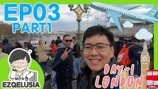 Vlog EP.03 Part 1 Let's go to London!!