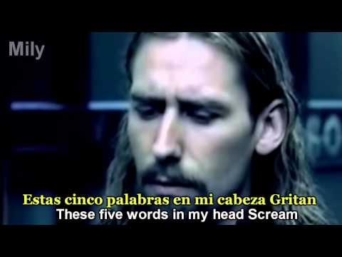 Nickelback - How You Remind Me Subtitulado Español ingles