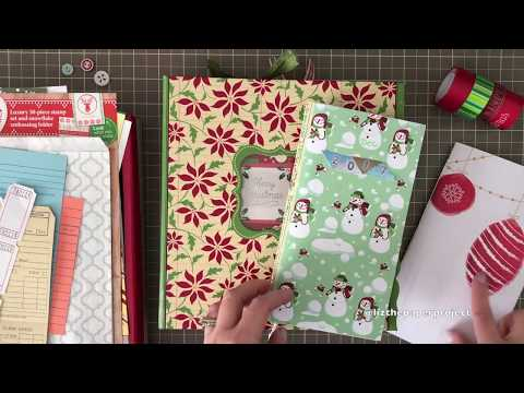 December Daily 2018 Prep, Binder and DIY Kit - Liz The Paper Project 🎄❤️