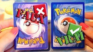 Comment reconnaitre une fausse carte Pokémon ? ◓ / Dissocier les raretés