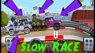 Hill Climb Racing 2 SUPER DIESEL Slow Race