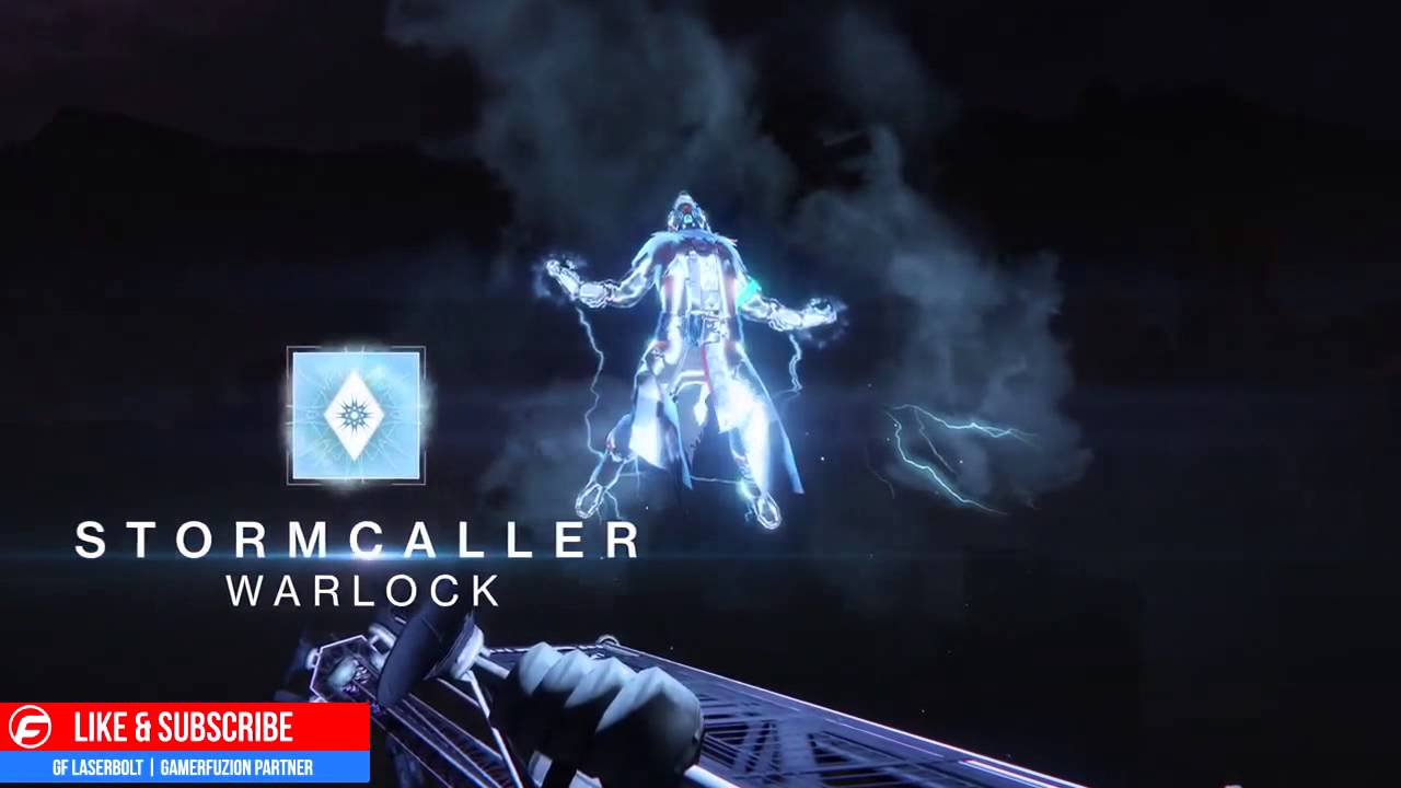 Destiny the taken king stormcaller are you ready unleash the power youtube - Warlock stormcaller ...