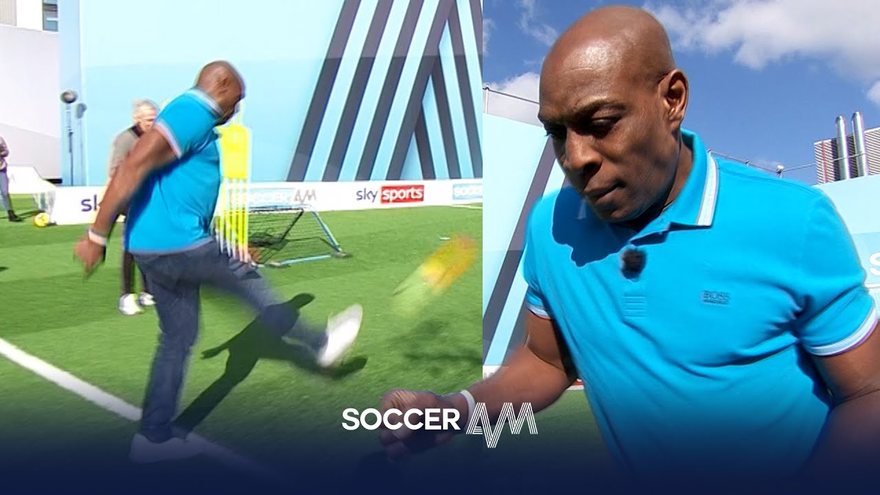 Frank Bruno busts out the dance moves in HILARIOUS Pro AM! | Soccer AM Pro AM