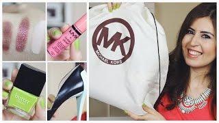 Alışveriş - Zara, Michael Kors, MAC...