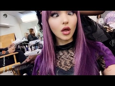 Dove Cameron | Best Snapchat Moments | 2017