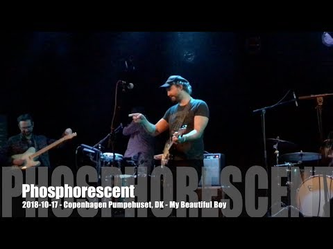 Phosphorescent - My Beautiful Boy - 2018-10-17 - Copenhagen Pumpehuset, DK