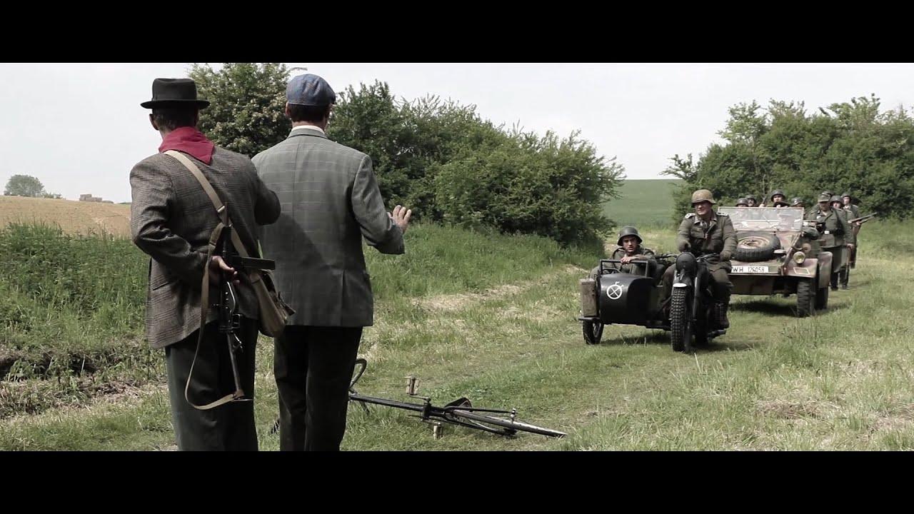 Bataille de Normandie - WW2 - 1944 - Chauconin Neufmontiers - Reconstitution des 18 et 19 mai 2019