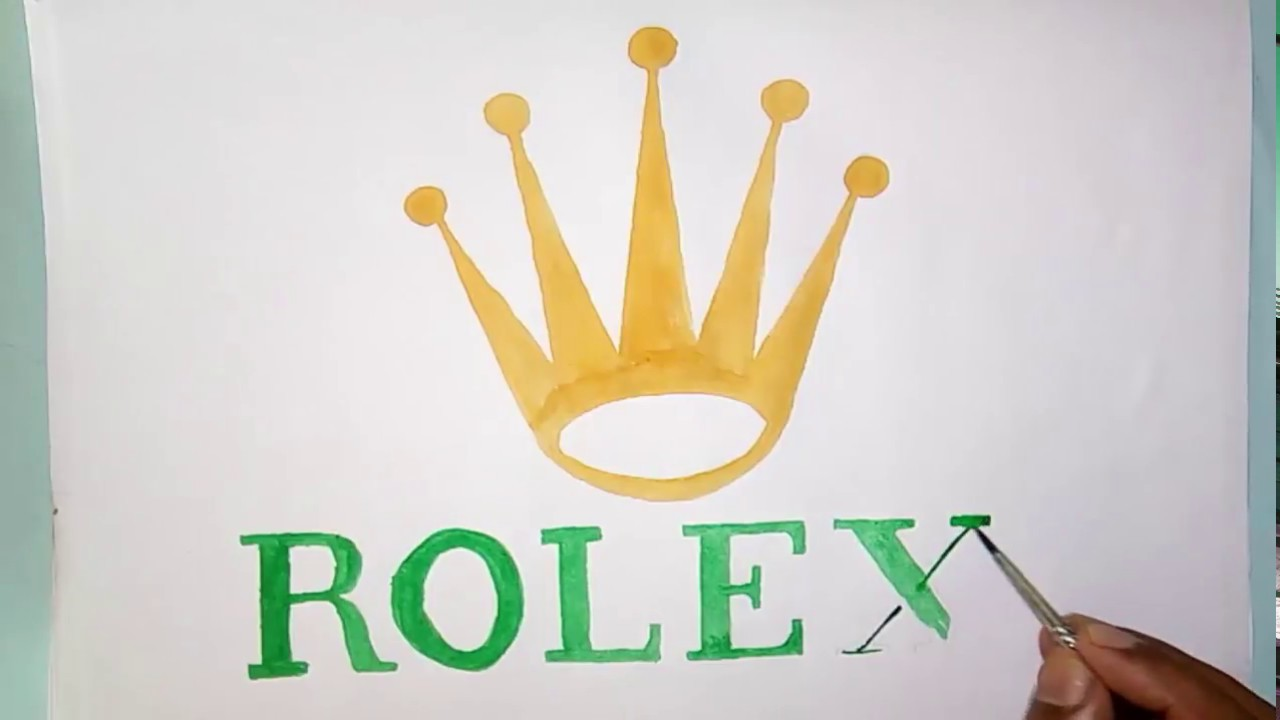 How to draw the rolex symbol (symbol drawing)