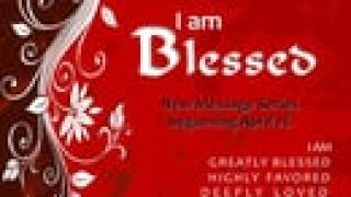 """I Am Blessed: """"A Blessed Blesser"""""""